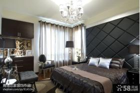 优质主卧室软包背景墙效果图