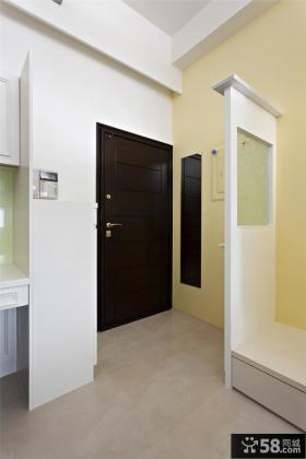 家庭装修进门玄关隔断图片