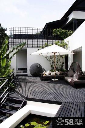 现代设计家装阳台图片