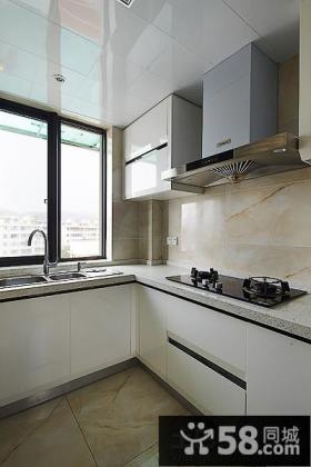 简约风格小型整体厨房装修效果图