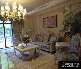 温馨华贵欧式别墅装饰案例