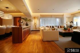 优质简约客厅吊顶设计