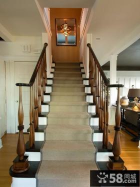欧式别墅室内楼梯设计图