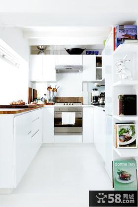 U型厨房橱柜图片