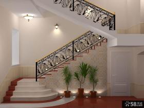 欧式铁艺楼梯栏杆图集
