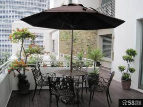 豪华别墅开放式阳台装修设计图