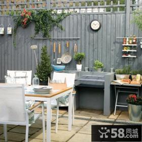 别墅阳台花园设计效果图欣赏