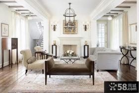 典型简约元素欧式风格装修客厅图片