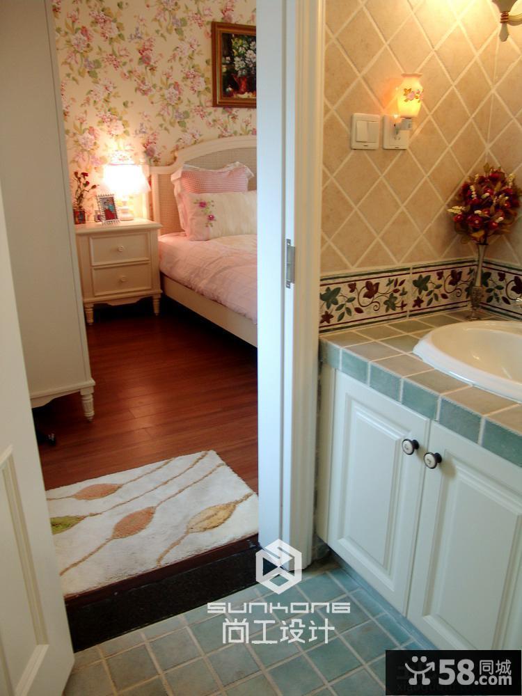 主卧室带卫生间装修效果图大全2015图片