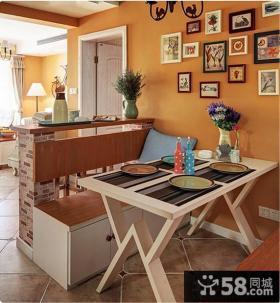 小户型室内装修设计餐厅效果图