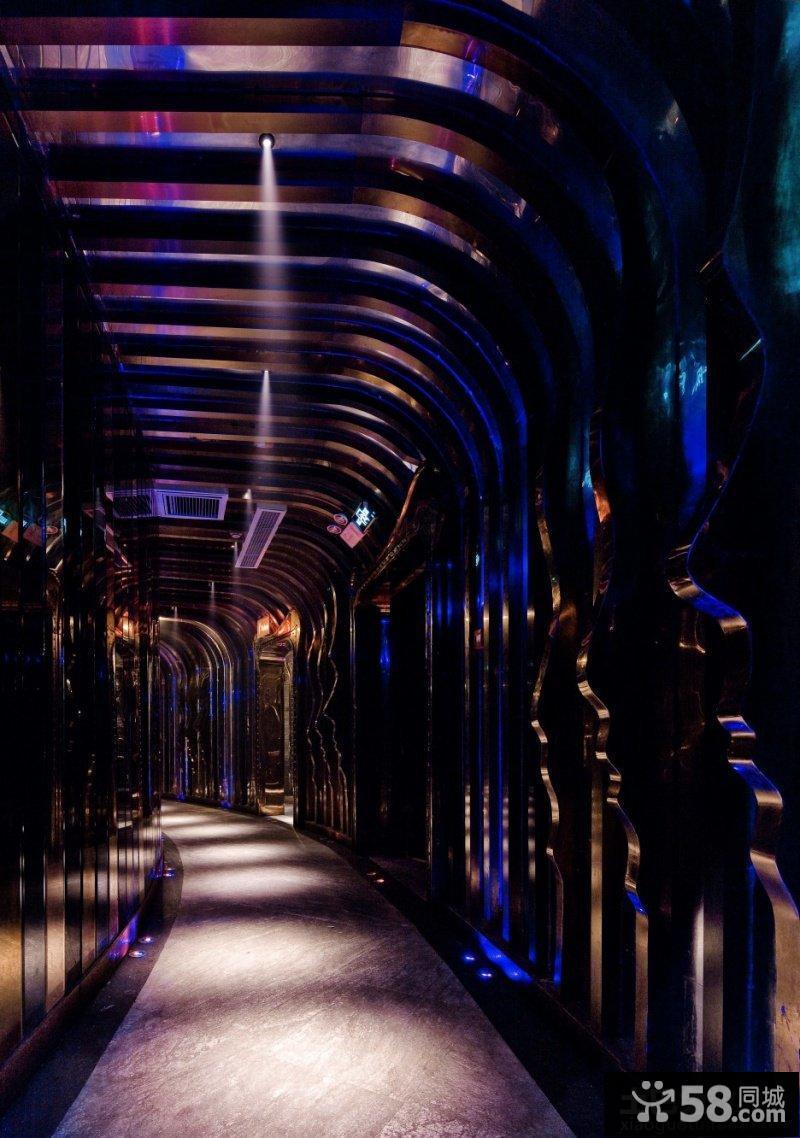 酒吧設計方案走廊過道效果圖