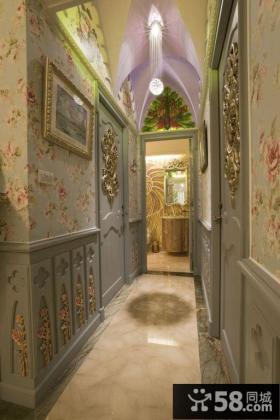 欧式宫廷风格别墅效果图片