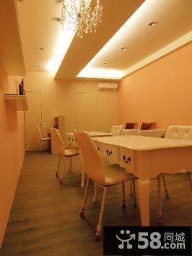 现代装饰餐厅吊顶图