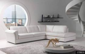 小复式客厅简约沙发