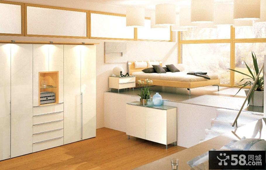 现代小卧室榻榻米装修