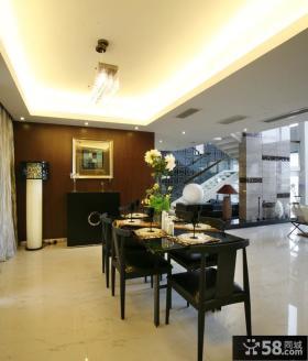 中式别墅2013家居餐厅装饰效果图