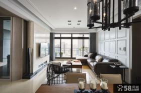 现代家装公寓室内设计效果图