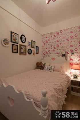 现代温馨装修公主儿童房设计