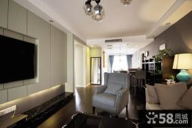 2015家装室内客厅电视背景墙效果图大全