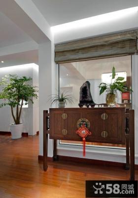 美式风格室内玄关效果图