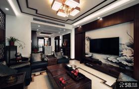新中式设计别墅室内装修图片