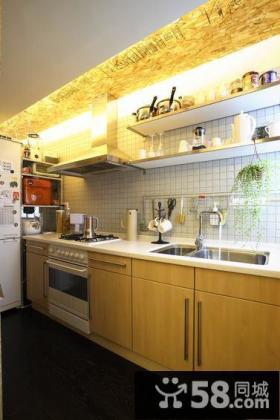简约风格厨房装修图片欣赏