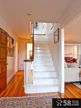 美式装修楼梯图片欣赏