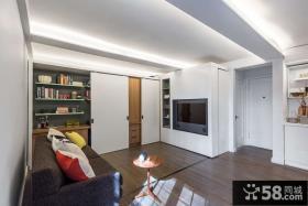 简洁环保设计一居室效果图