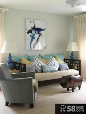 80后小户型客厅装修 小客厅装修效果图大全2012图片