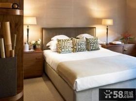 中式别墅装修设计卧室图片