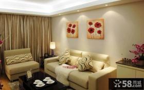 客厅沙发背景墙装饰画图片新