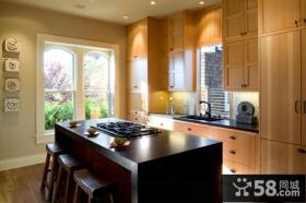 美式家居实木橱柜设计