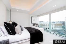 白领复式公寓主卧室装修效果图