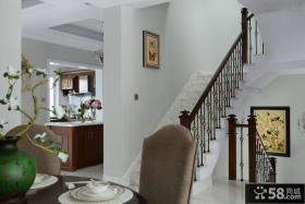 地中海楼梯室内装修效果图片