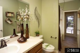 小户型美式田园卫生间装修效果图大全2013图片