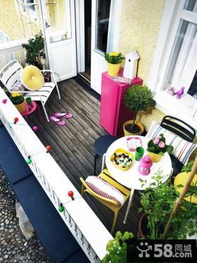 优质露天小阳台设计效果图欣赏