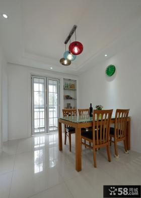 现代两居室家居设计装饰效果图片