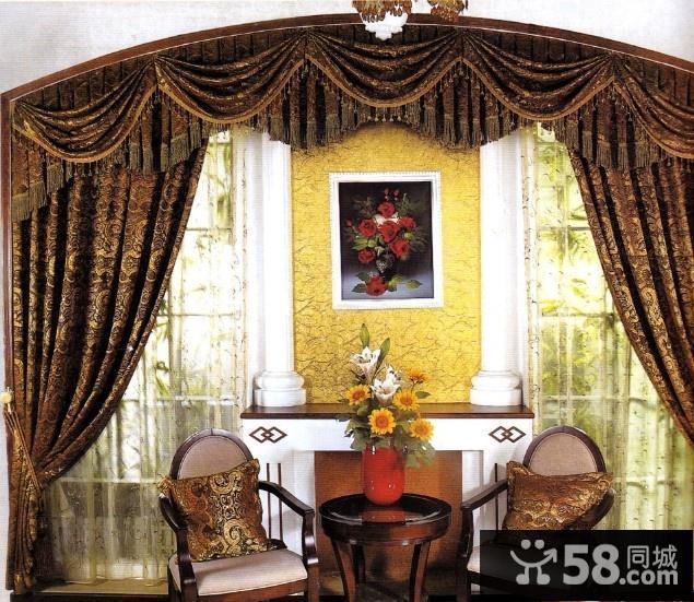 客厅欧式窗帘图片图片