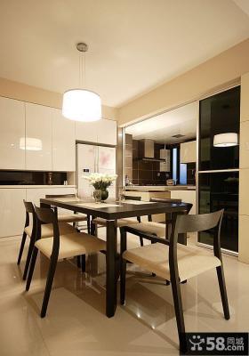 优质日式一居室餐厅装修图