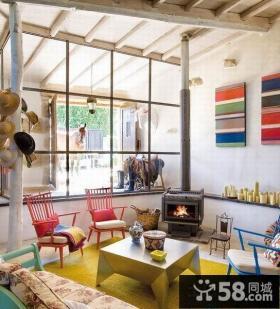 东南亚风格小别墅客厅装修图片