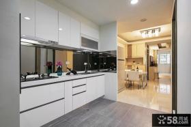 简约现代厨房设计装修效果图