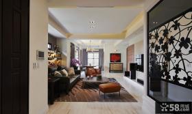 现代风格客厅设计图片欣赏2014