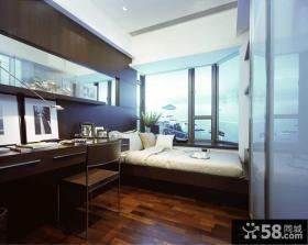东南亚风格卧室阳台设计效果图