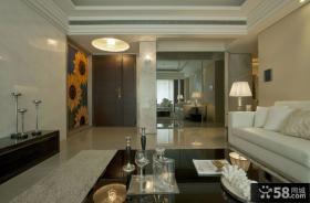现代风格三居室家庭室内装潢设计