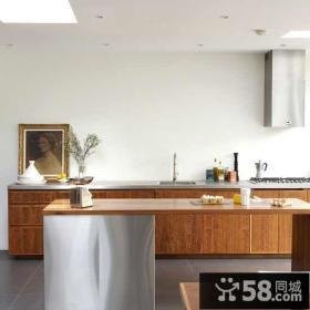 6万简约风格厨房橱柜装修效果图大全2014图片