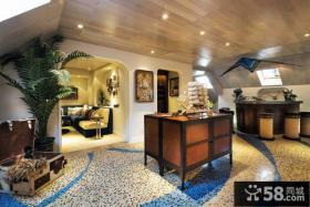 地中海装修复式楼室内图片