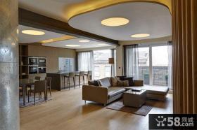 现代风格公寓室内房间装修效果图