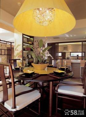 新中式家庭餐厅设计装饰