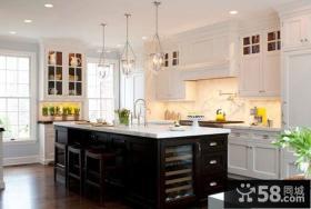 欧式别墅整体厨房图片欣赏