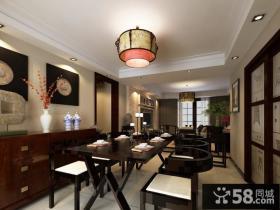 中式客厅装修效果图大全2013图片 现代中式装修